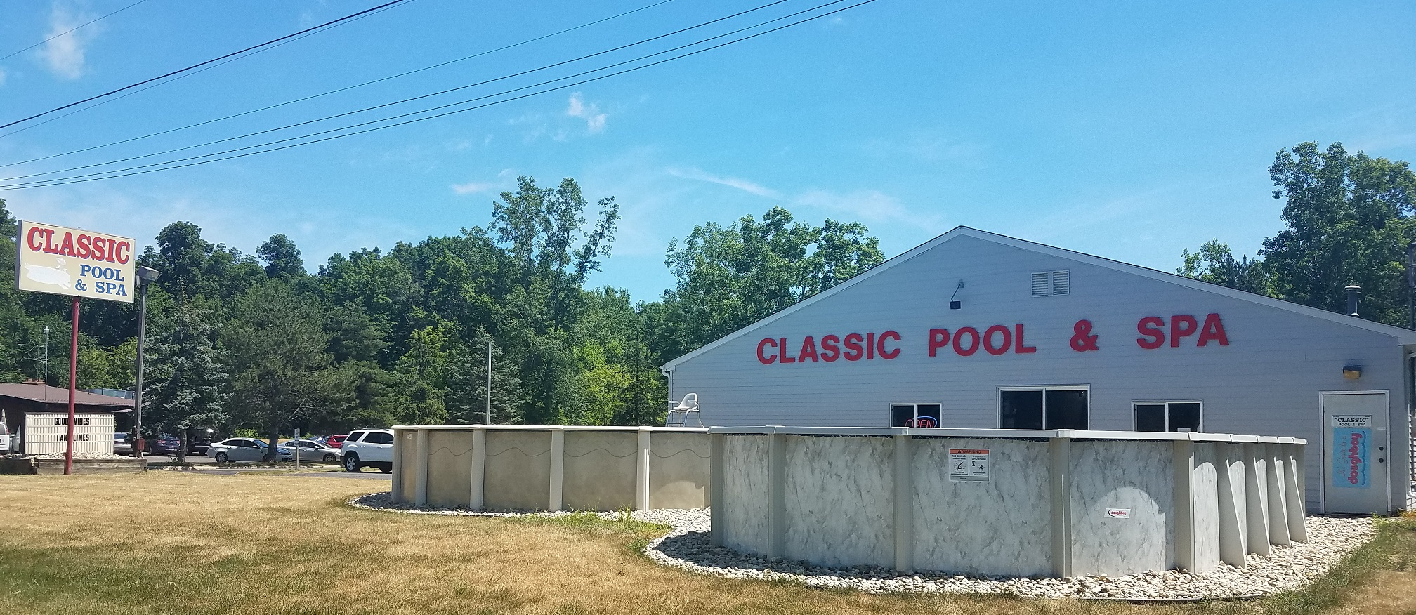 Classic Pool And Spa Swimming Pools For Sale Lansing Mi